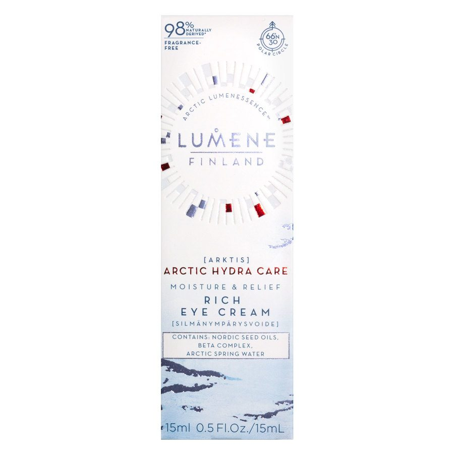 Lumene Artic Hydra Care Moisture & Relief Rich Eye Cream 15 ml