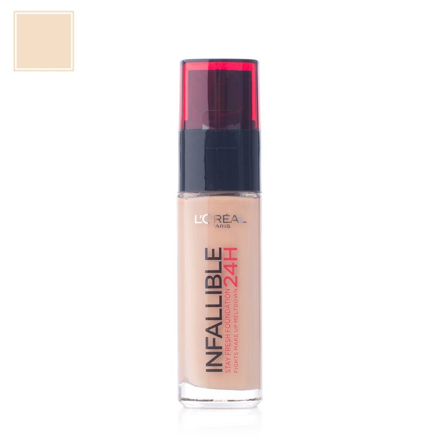 L'Oréal Paris Infallible 24H Liquid Foundation – 120 Vanilla 30ml