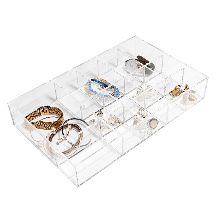 Shelas Beauty Organizer Removable Divider