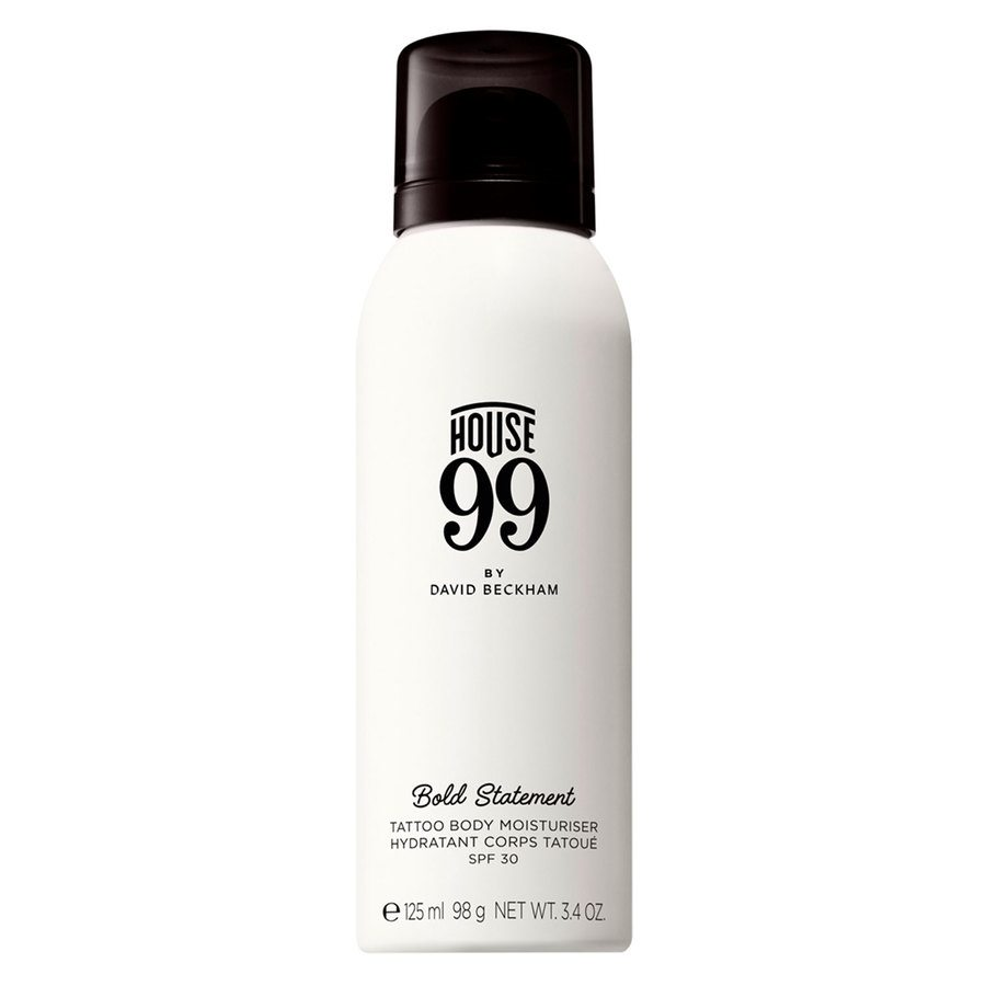 House 99 by David Beckham Bold Statement Tattoo Body Moisturiser SPF 30 125 ml