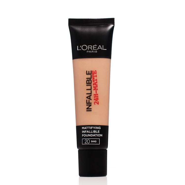 L'Oréal Paris Infallible 24h Matte Foundation 30 ml – 20 Sand