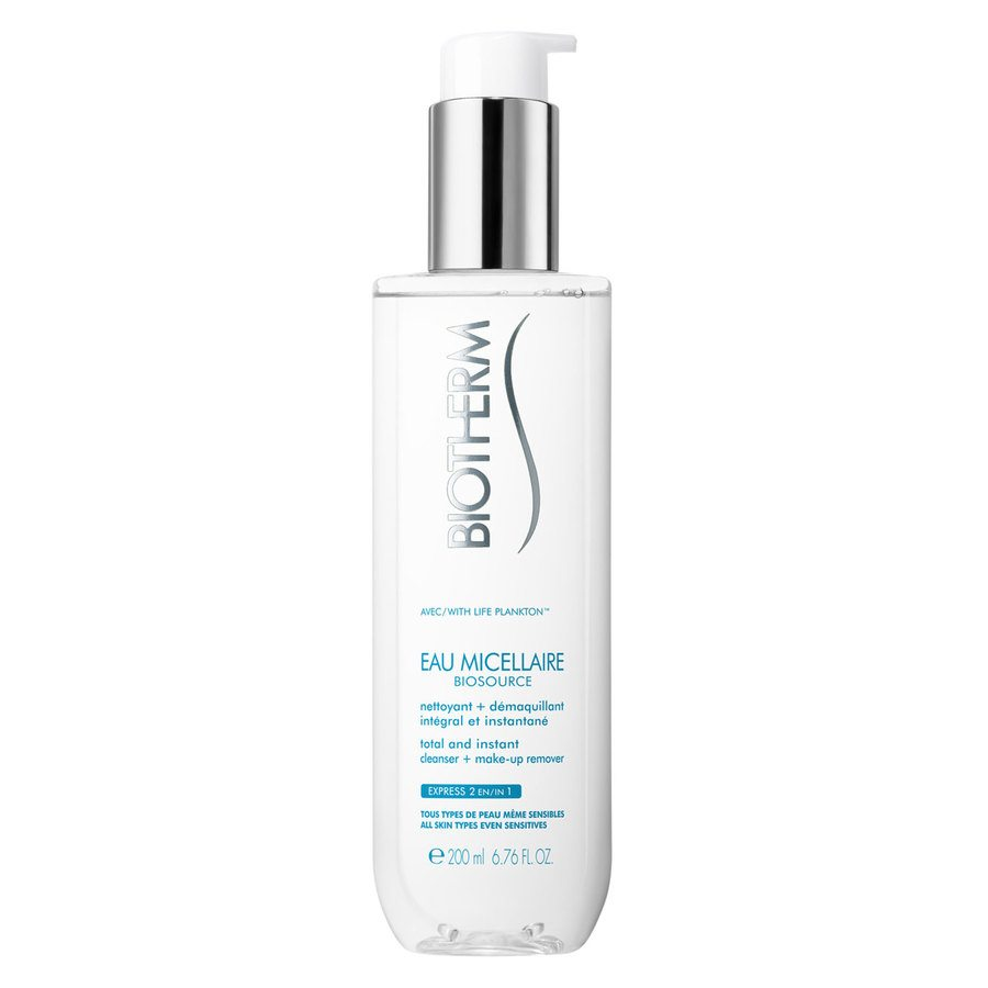 Biotherm Biosource Eau Micellaire Cleanser + Make-Up Remover 200 ml