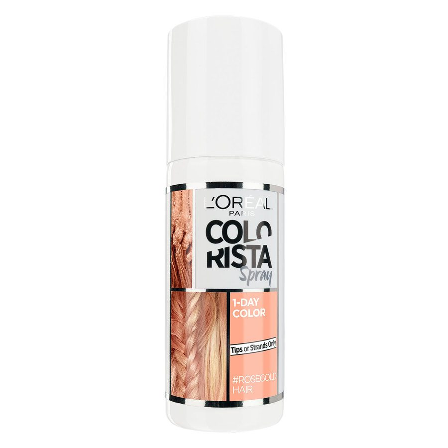 L'Oréal Paris Colorista 1 Day Spray 75 ml - Rose Gold