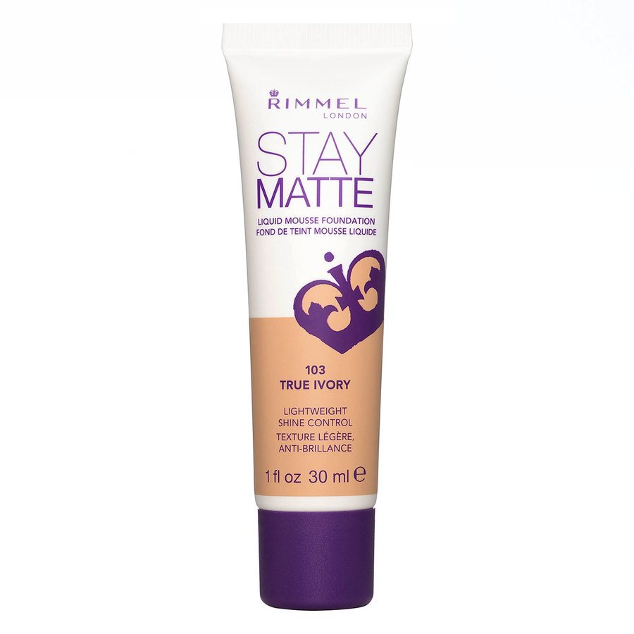 Rimmel Stay Matte Liquid Mousse Foundation True Ivory 103 30ml