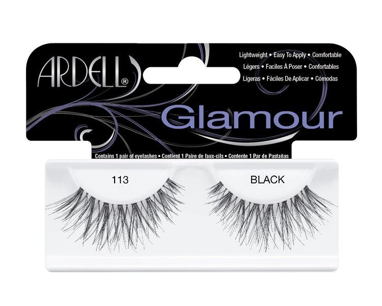 Ardell Glamour Fashion Lashes – 113 Black