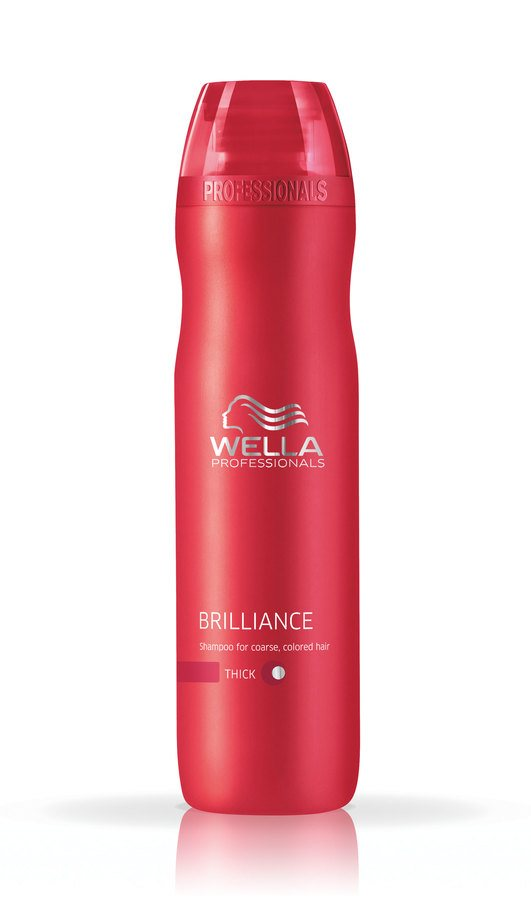 Wella Professionals Brilliance Shampoo Coarse Hair 250 ml