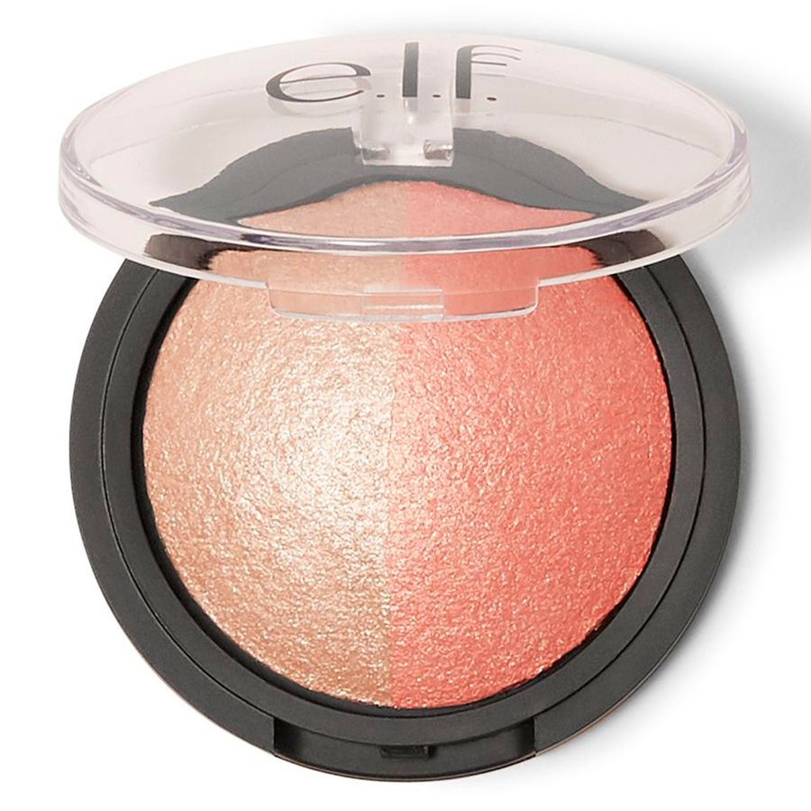 e.l.f. Baked Highlighter & Blush - Rose Gold