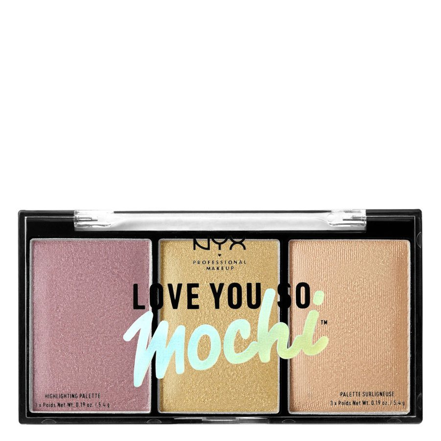 NYX Professional Makeup Love You So Mochi Highlighting Palette – Lit Life