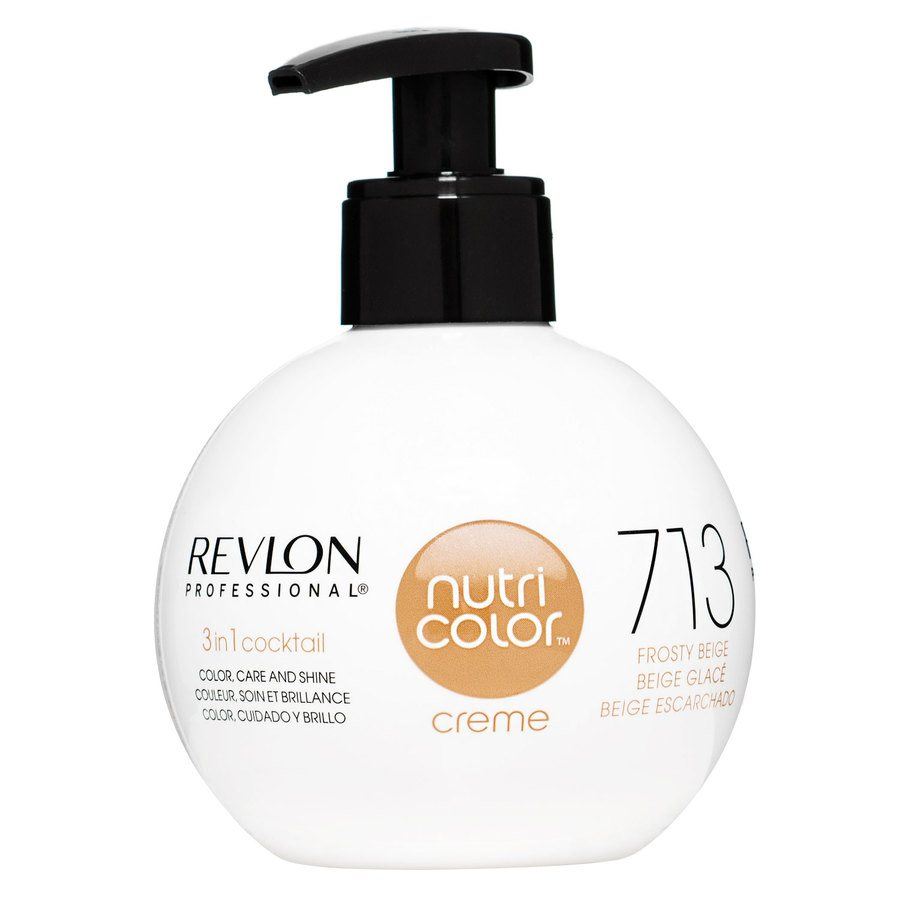 Revlon Professional Nutri Color Creme 270 ml – 713 Frosty Beige