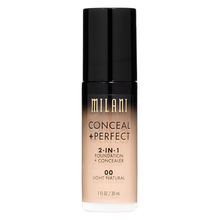 Milani Conceal + Perfect 2-In-1 Foundation + Concealer 30 ml – Light Natural