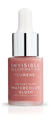 Lumene Invisible Illumination Instant Glow Watercolor Blush 15 ml Coral Bloom