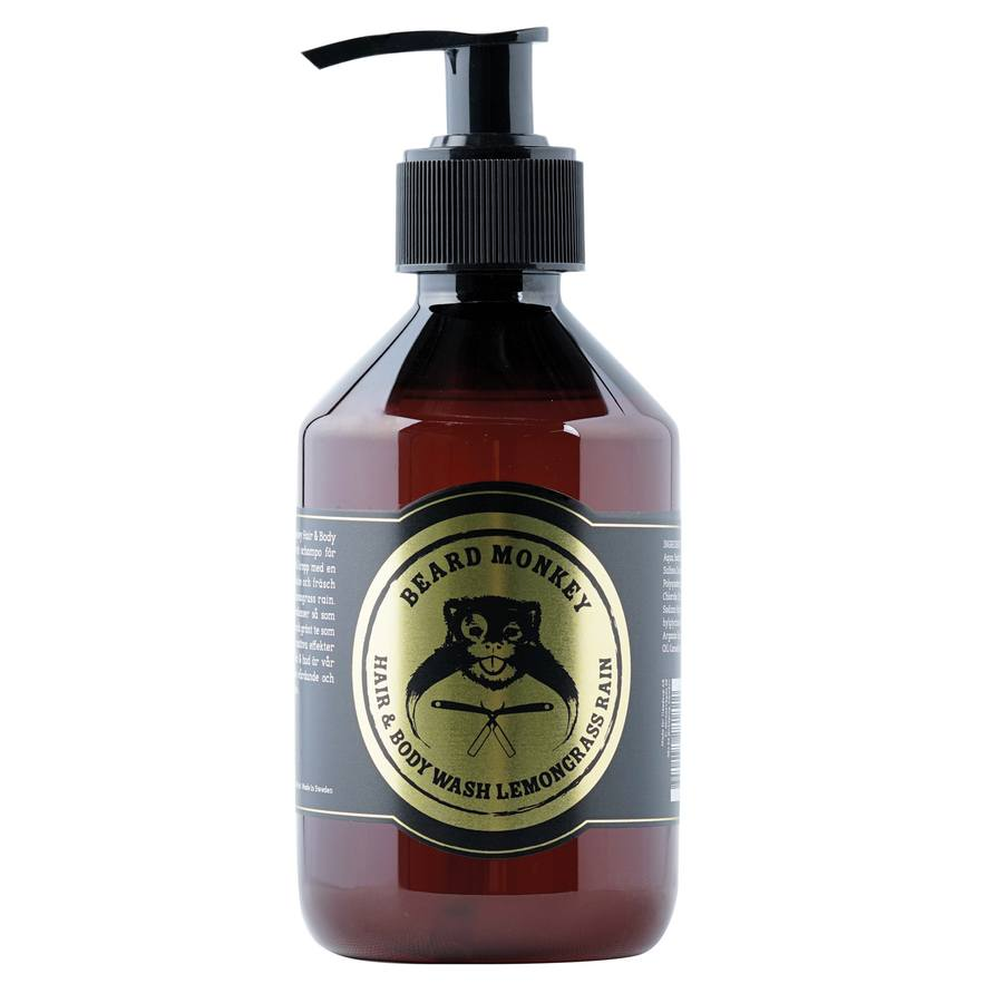 Beard Monkey Hair & Body Wash 250 ml - Lemongrass