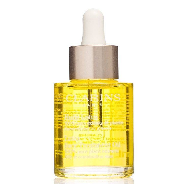Clarins Lotus Face Treatment Oil Oily Or Combination Skin 30ml