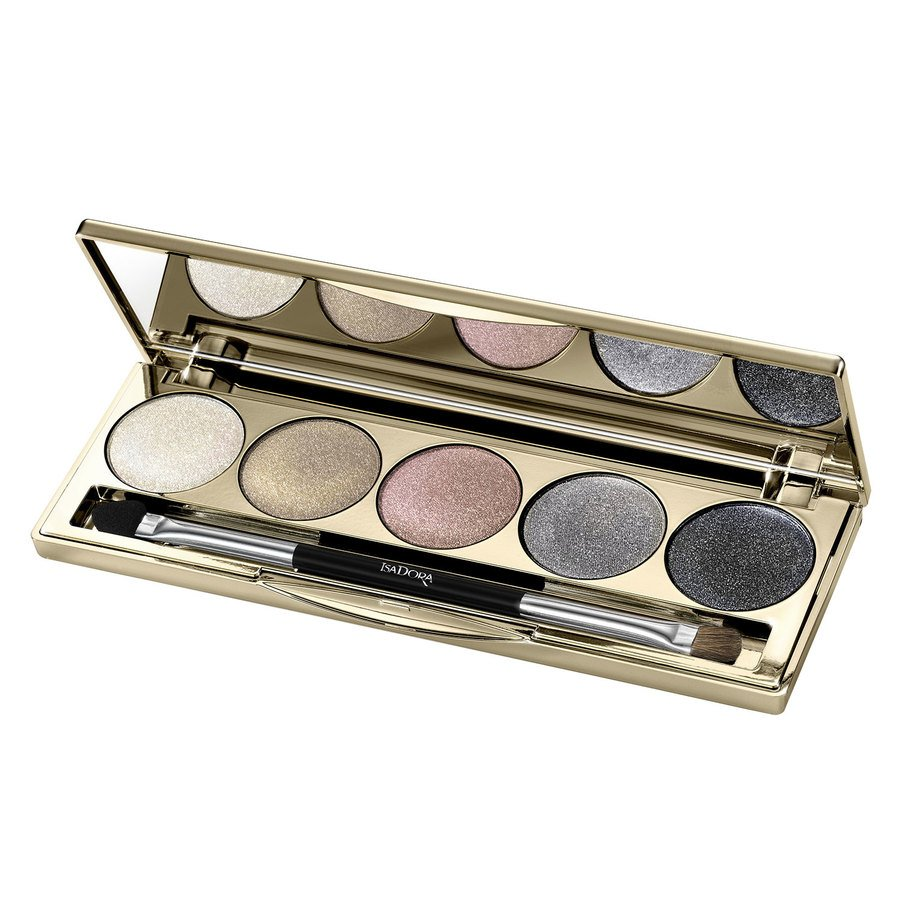 IsaDora Eyeshadow Palette Golden Edition 7,5 g - 67 Galactic Eyes