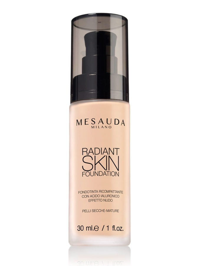 Mesauda Milano Radiant Skin Foundation 30 ml – 301 Light Beige
