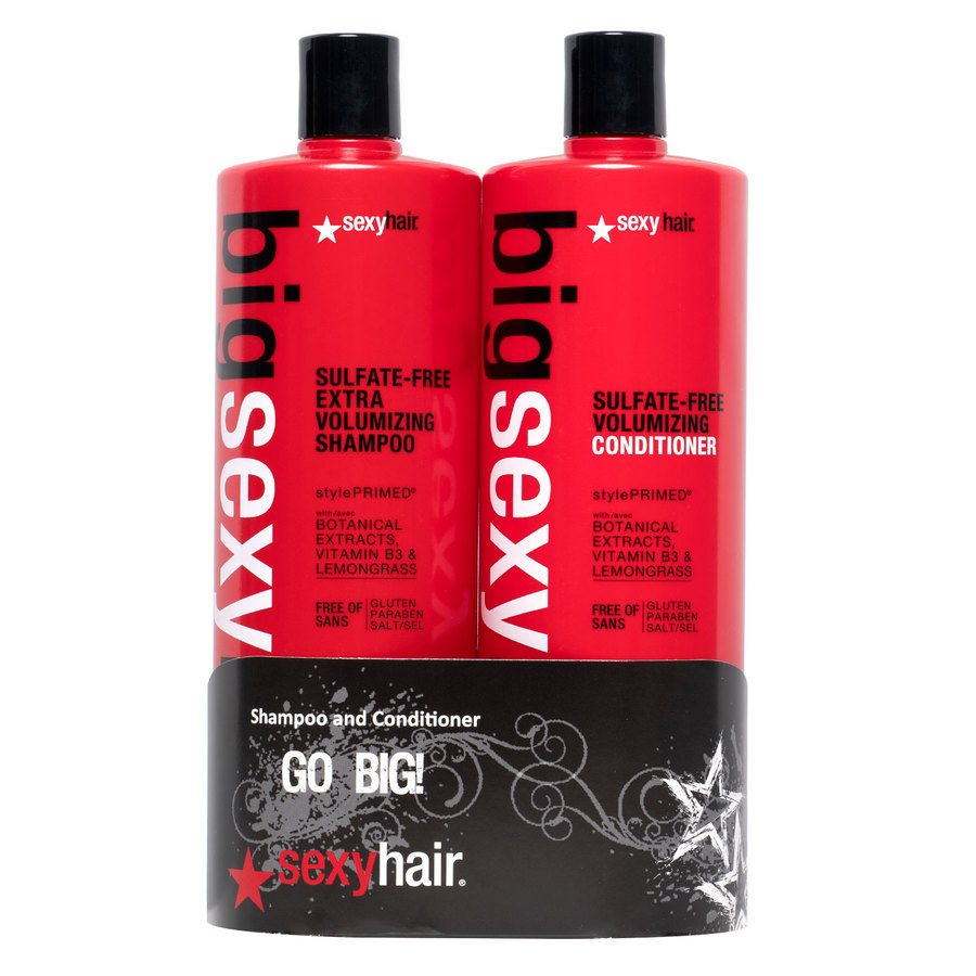 Big Sexy Hair Extra Volumizing Shampoo and Conditioner 1000 ml