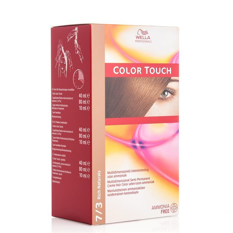 Wella Professionals Color Touch 130 ml – 7/3 Rich Naturals