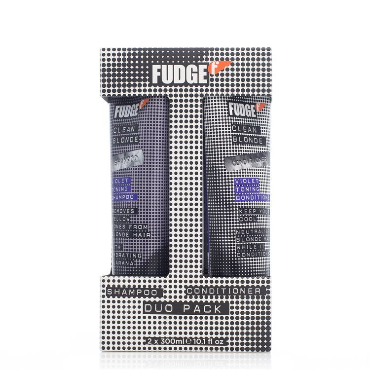 Fudge Clean Blonde Violet Toning Shampoo & Conditioner Duo 2 x 300 ml