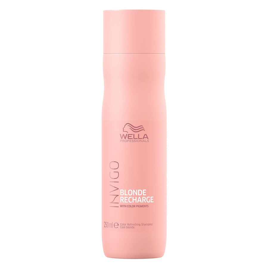 Wella Professionals Invigo Cool Blonde Color Refreshing Shampoo 250 ml