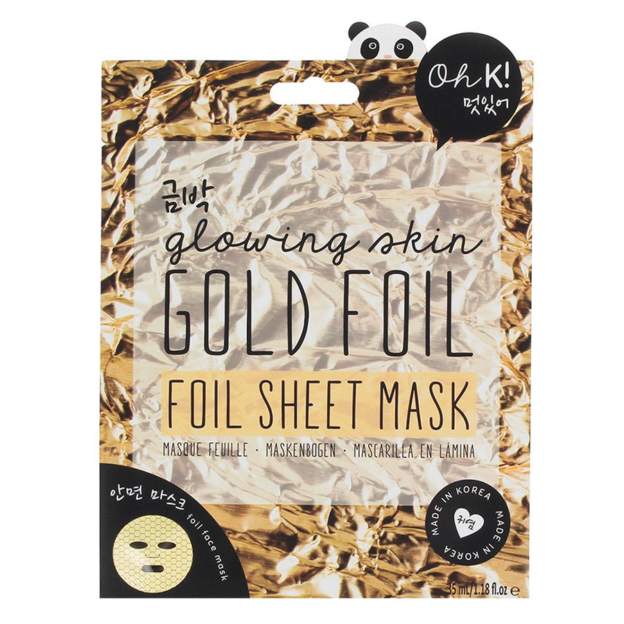 Oh K! Gold Foil Sheet Mask 35 ml
