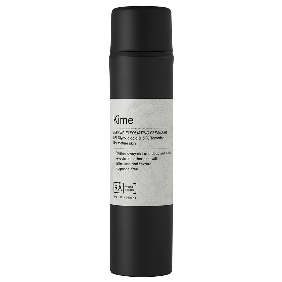 RÅ Organic Skincare (Exp 03.2019) Kime Evening Exfoliating Cleanser 150 ml