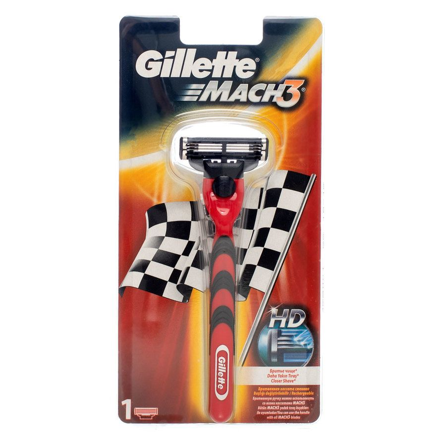Gillette Mach 3 Red Racing