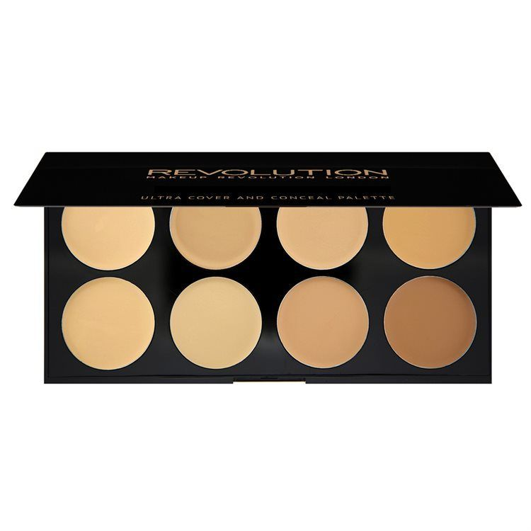 Makeup Revolution Ultra Cover and Conceal Palette 10 g Light to Medium