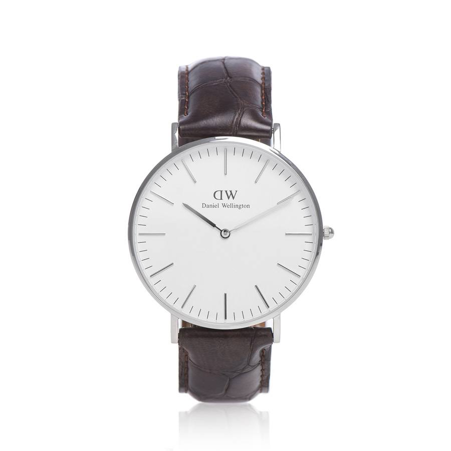 Daniel Wellington Classic York Silver 40 mm 0211DW