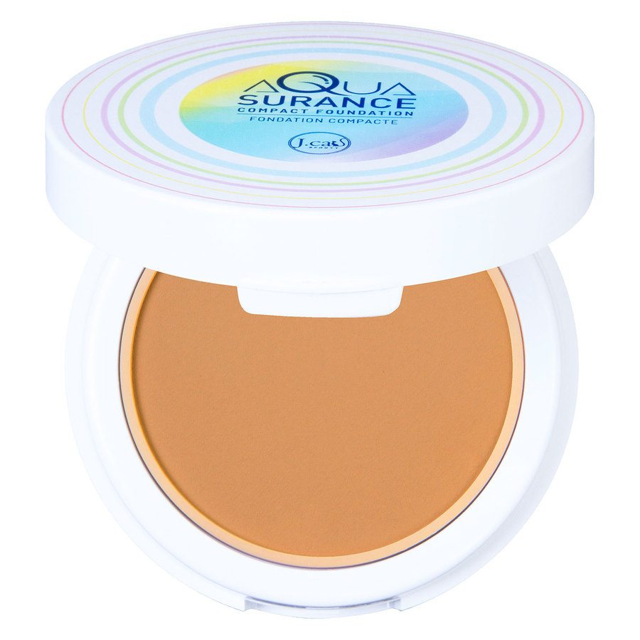 J.Cat Aquasurance Compact Foundation 9 g - Soft Tan