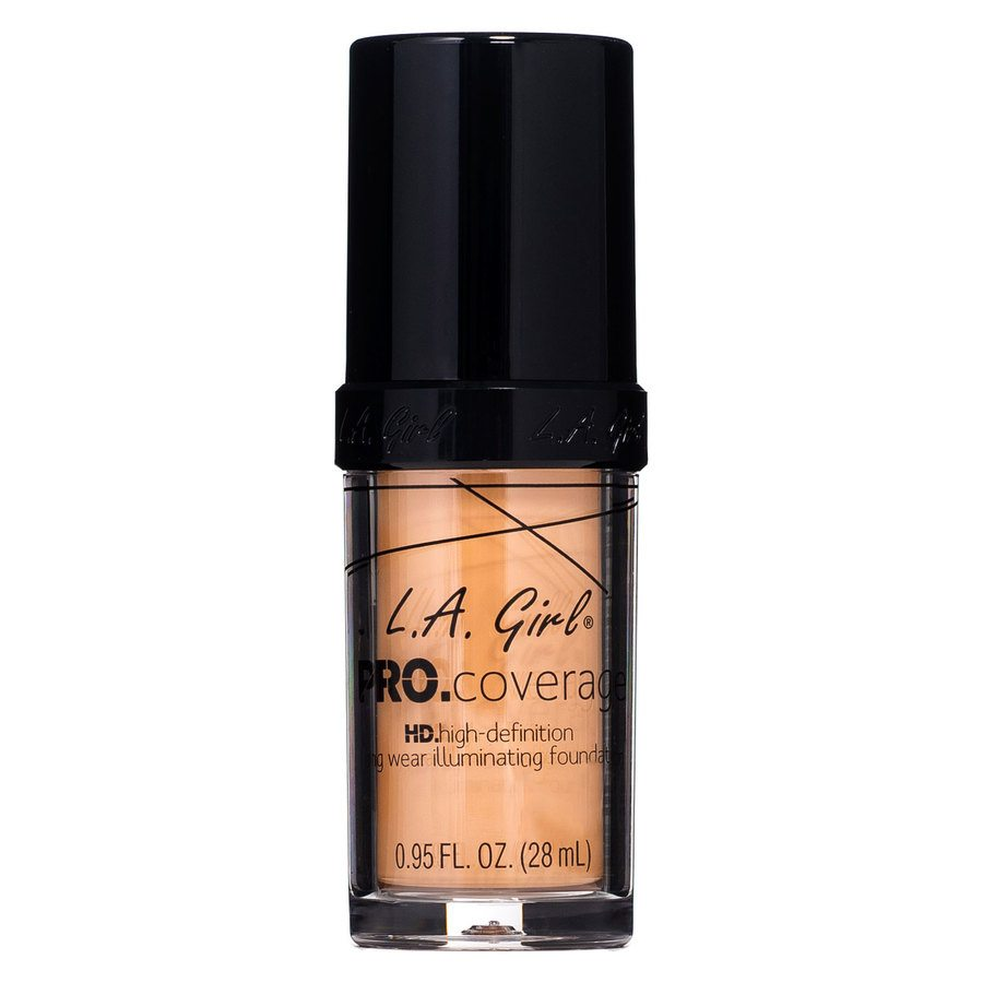L.A. Girl Pro Coverage Illuminating Foundation – GLM648 Soft Honey