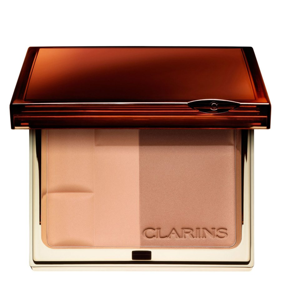 Clarins Bronzing Duo SPF 15 Mineral Powder Compact 10 g – 01 Light