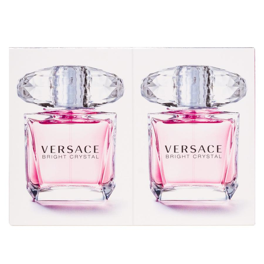 Versace Bright Crystal Eau De Toilette Gift Set 2 x 30 ml