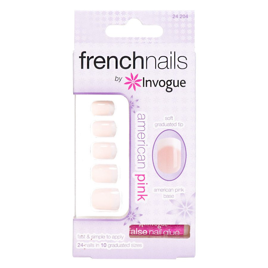 Invogue French Nails – American Pink