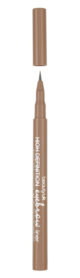 Beauty UK High Definition Eyebrow Liner - No.2 Soft Brown 1ml