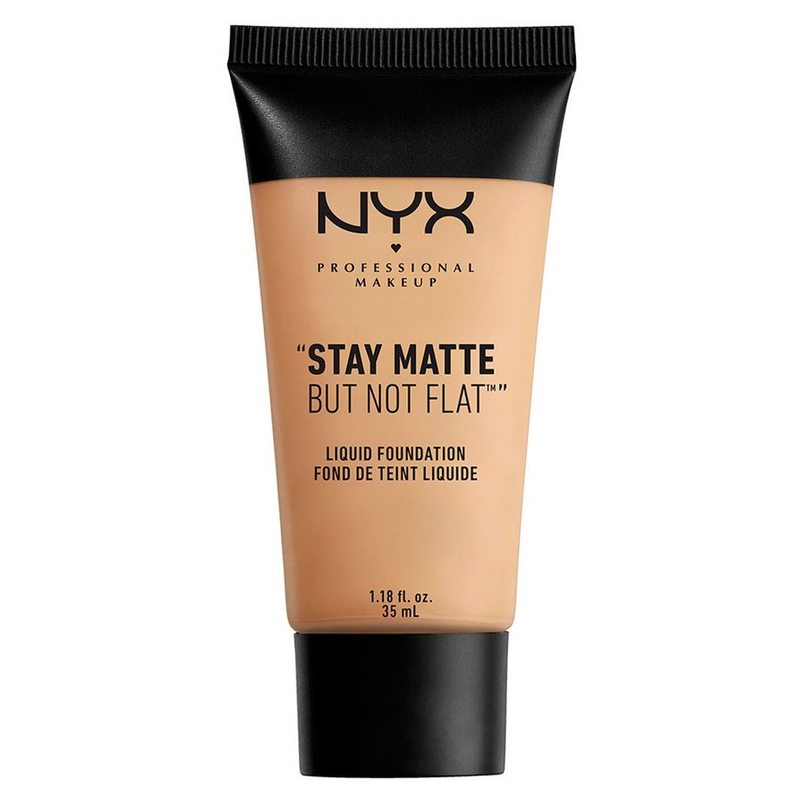 NYX Professional Makeup Stay Matte But Not Flat Liquid Foundation Naturel 35 ml