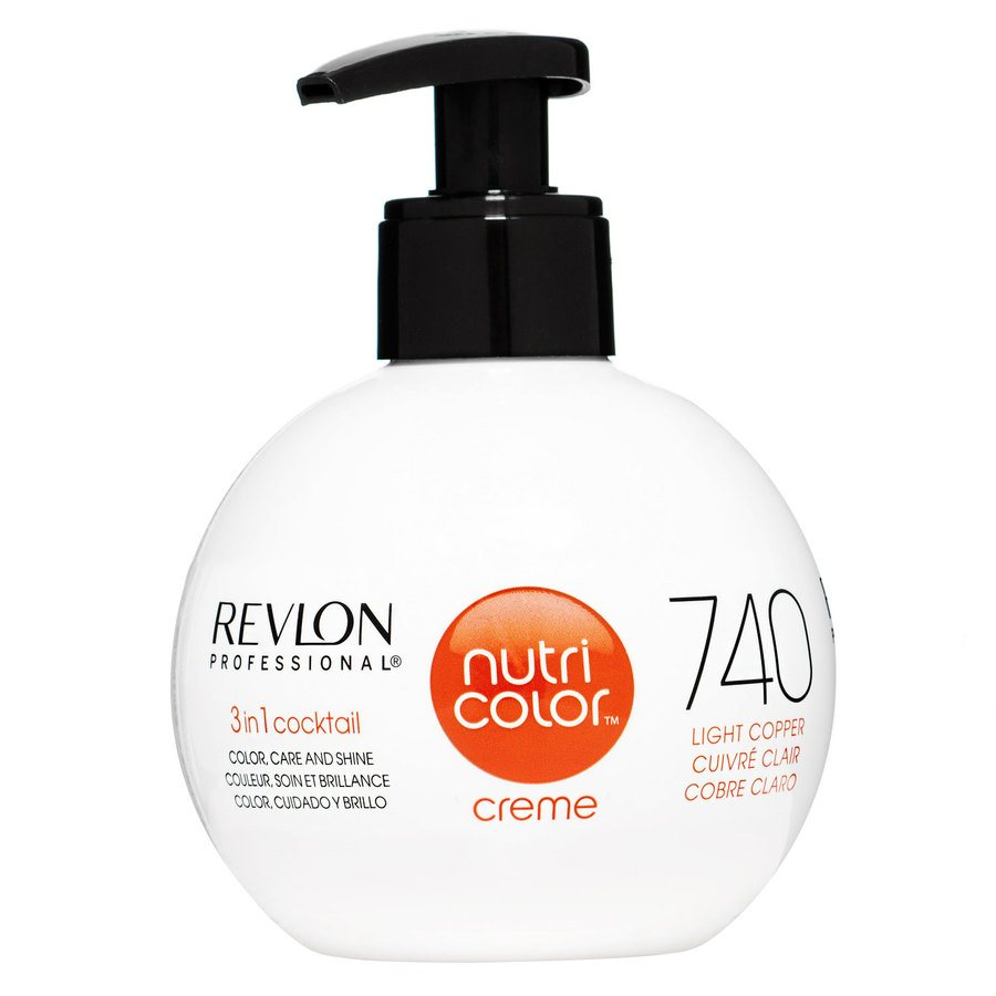 Revlon Professional Nutri Color Creme 270 ml – 740 Copper
