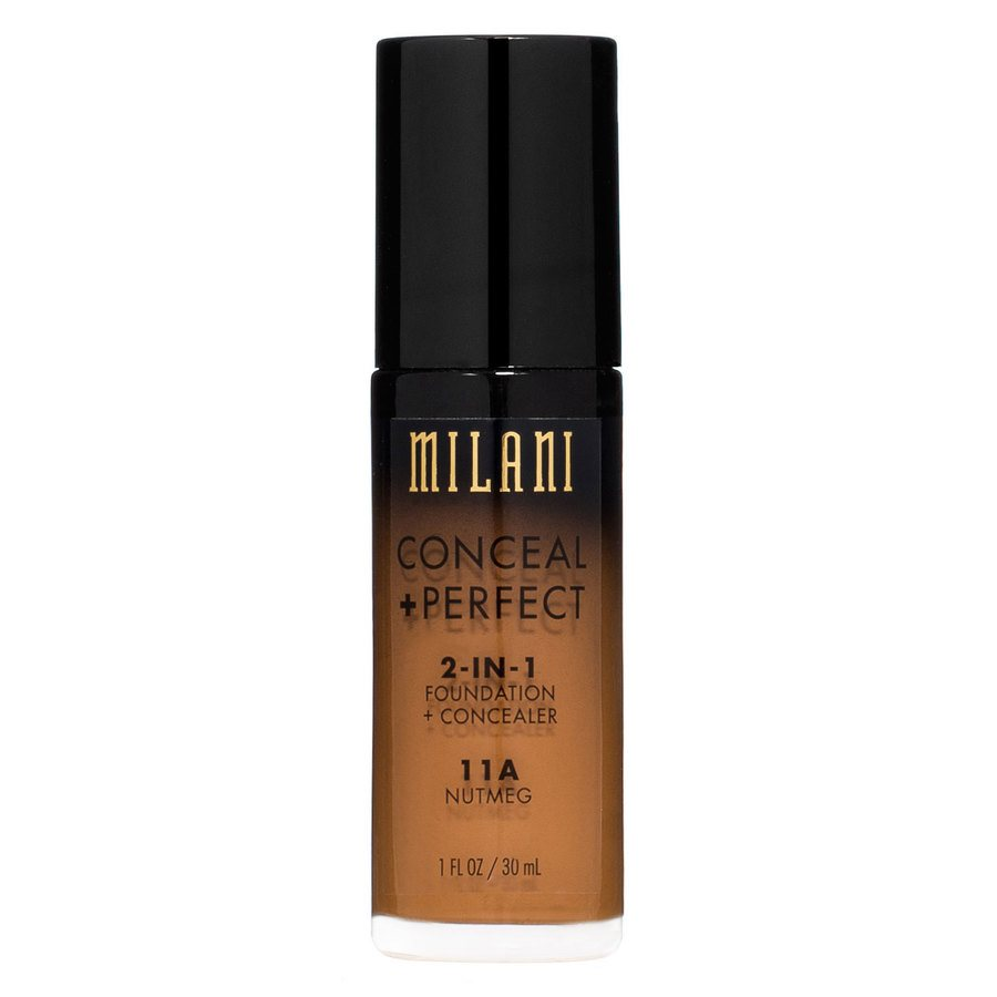 Milani Conceal + Perfect 2-In-1 Foundation + Concealer Nutmeg 30ml