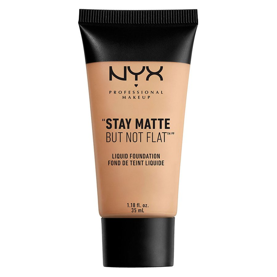 NYX Professional Makeup Stay Matte But Not Flat Liquid Foundation 35ml - Soft Beige SMF05