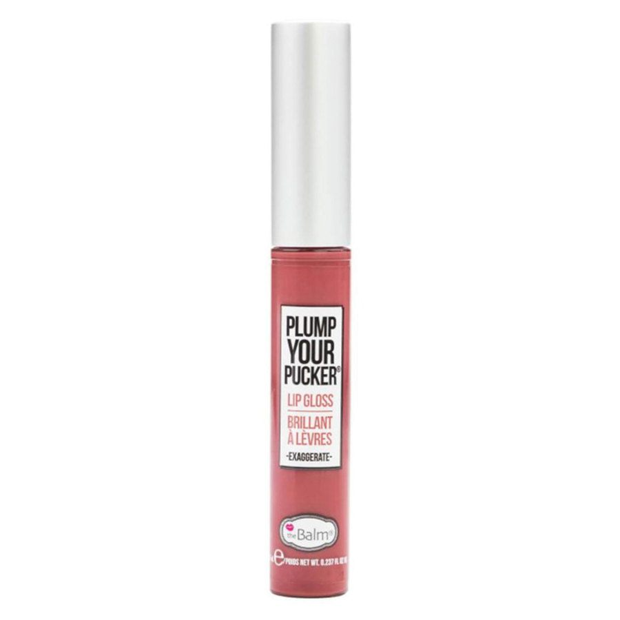 theBalm Plump Your Pucker Lip Gloss Exaggerate 7 ml