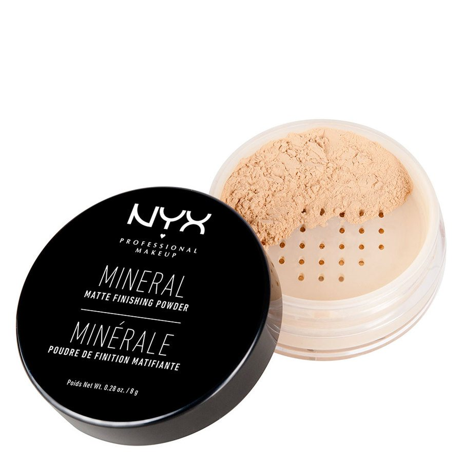 NYX Professional Makeup Mineral Finishing Powder – Light/Medium 7,5g