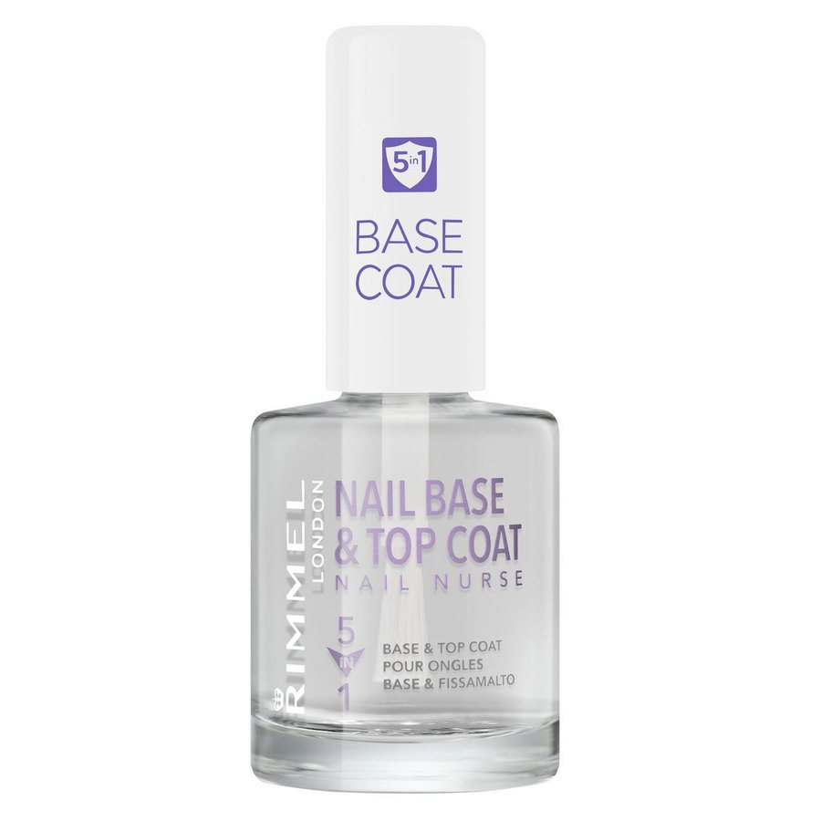 Rimmel London 5In1 Nail Nurse Base And Top Coat 12 ml