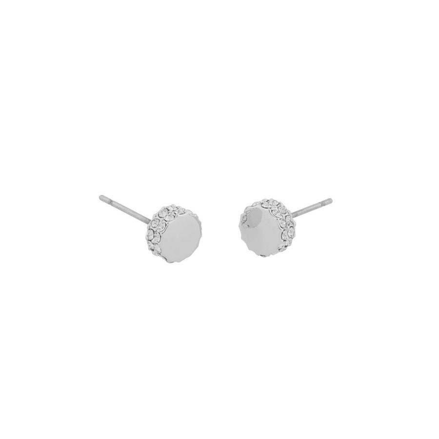 Snö Of Sweden Marly Small Earring - Silver/Clear