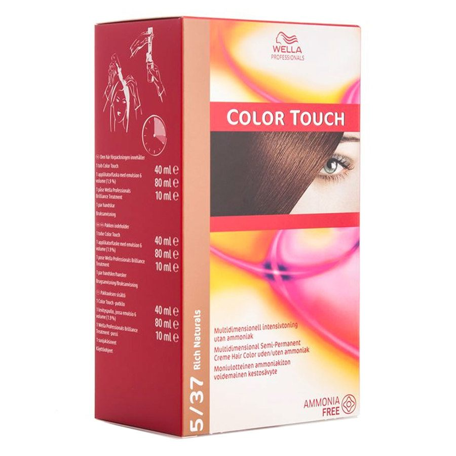 Wella Professionals Color Touch 130 ml – 5/37 Rich Naturals