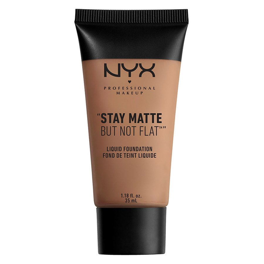 NYX Professional Makeup Stay Matte But Not Flat Liquid Foundation 35 ml - Chestnut