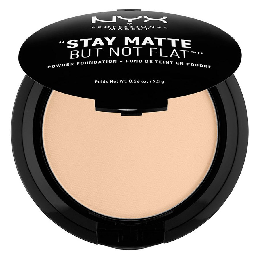 NYX Prof. Makeup Stay Matte But Not Flat Powder Foundation Nude 7,5g