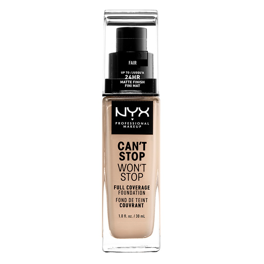 NYX Professional Makeup Can't Stop Won't Stop Full Coverage Foundation Fair 30ml