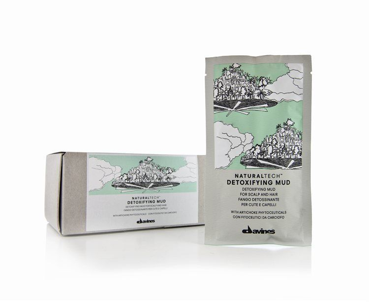 Davines NATURALTECH Detoxifying Mud 6 x 50 ml