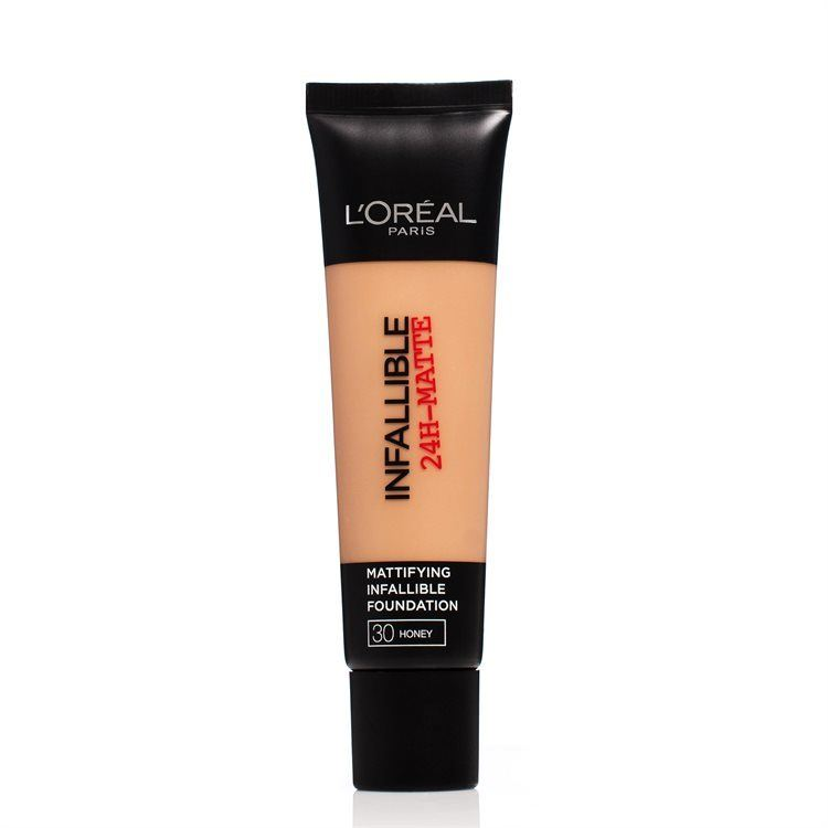 L'Oréal Paris Infallible 24h Matte Foundation 30 ml – 30 Honey
