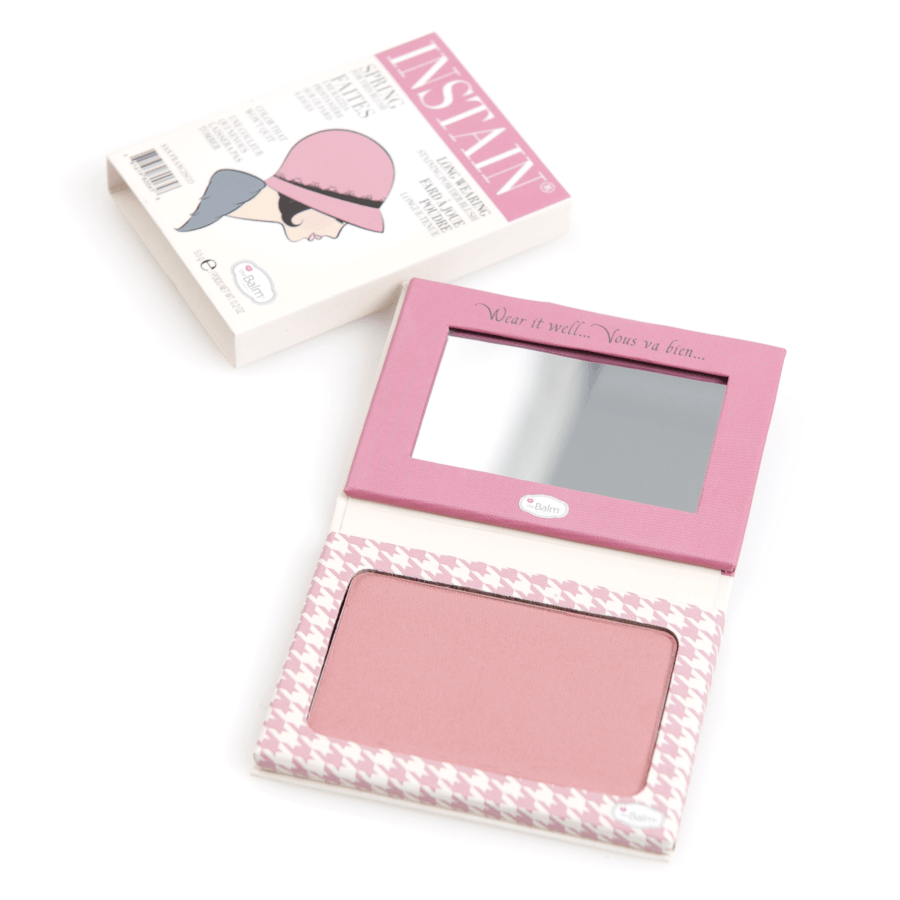 theBalm Instain Long-Wearing Powder Staining Blush 5,5 g – Houndstooth