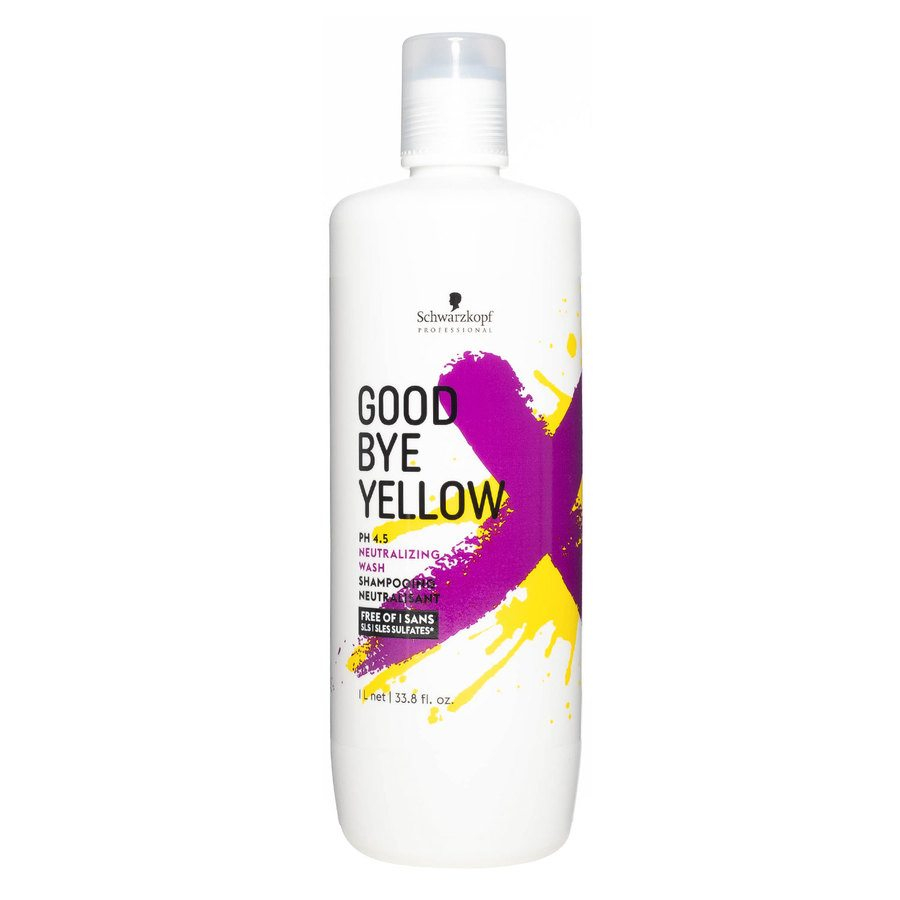 Schwarzkopf Goodbye Yellow Neutralizing Wash Shampoo 1 000 ml